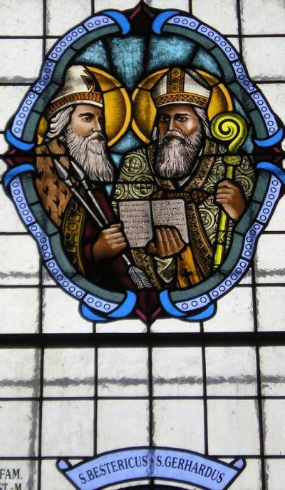 De hellige Gerhard og Bystrik
