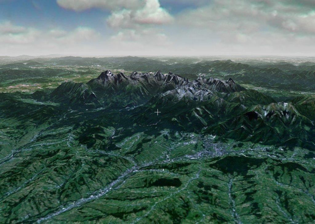 Tatra NASA World Wind NLT Landsat