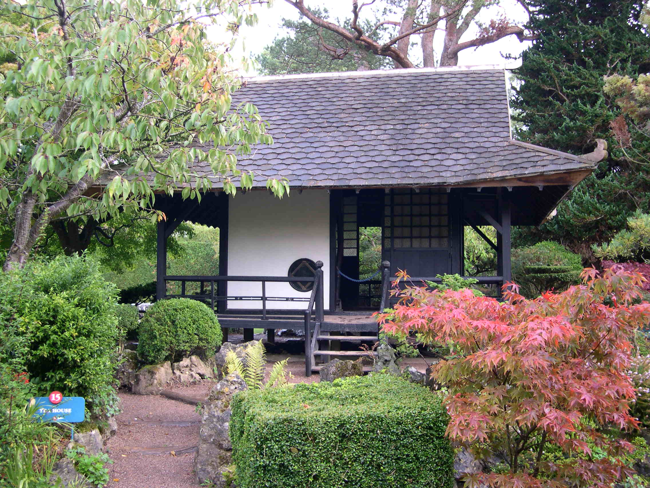 File tea house jpg wikipedia for Japanese house garden