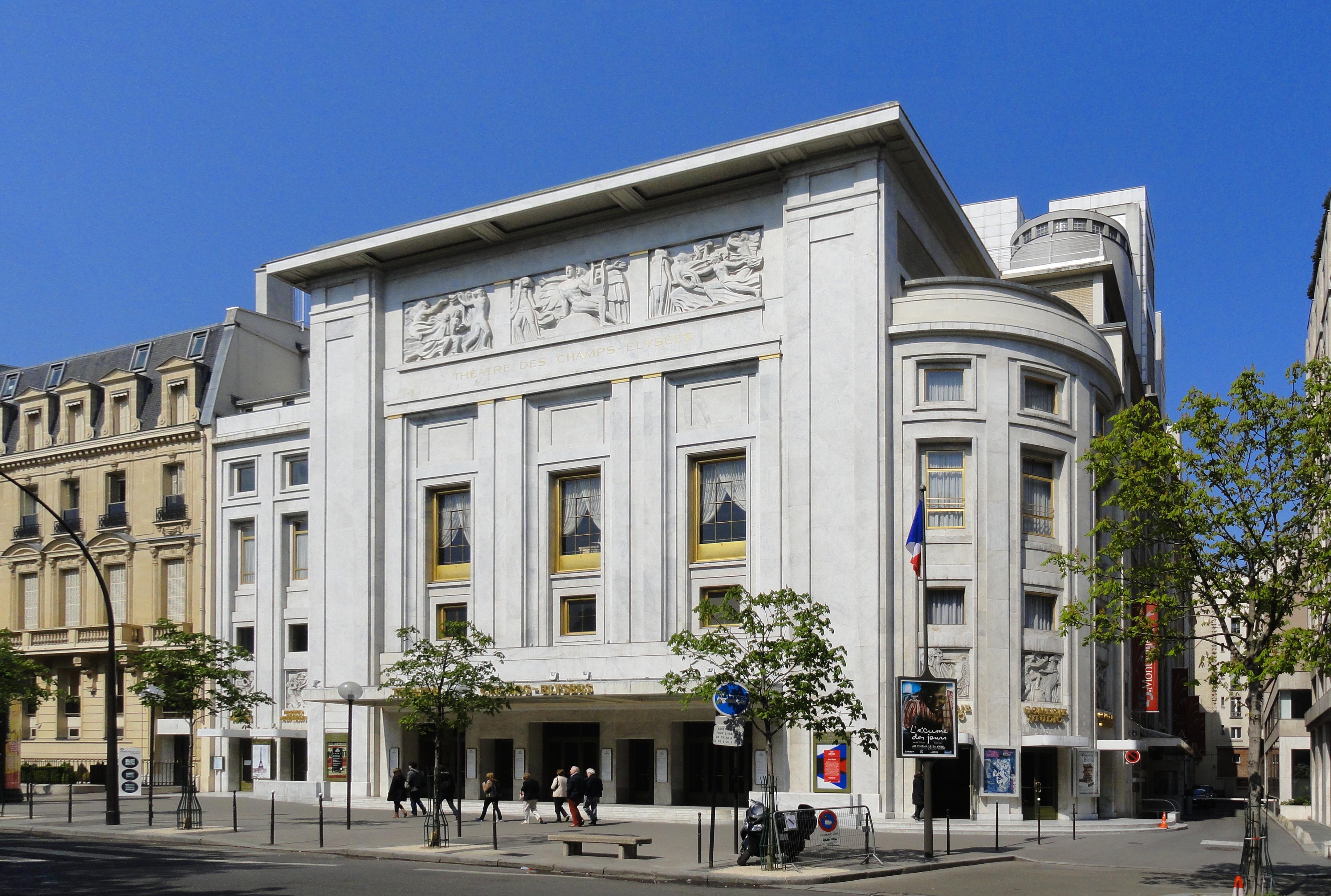 Théâtre des Champs-Élysées - Wikipedia