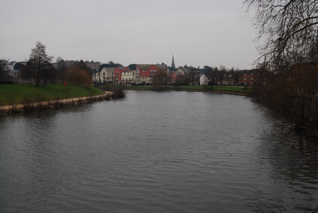 The River Exe South of the A377 bridge, Exeter - geograph.org.uk - 1110691