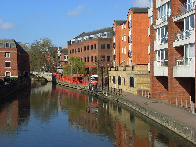 The River Kennet, Reading - geograph.org.uk - 765265