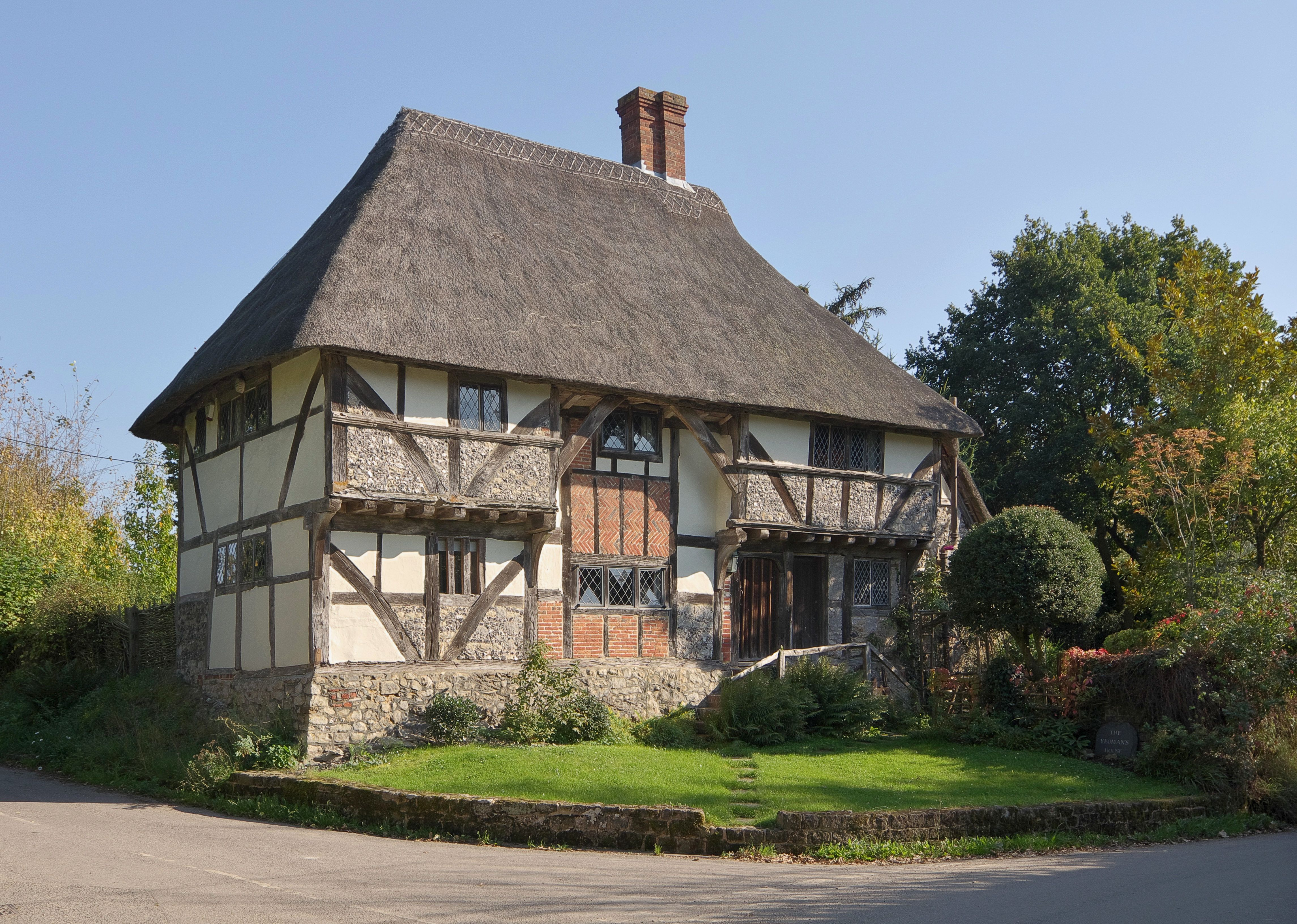 Small English Cottage Floor Plans File The Yeomans House Bignor Jpg Wikimedia Commons