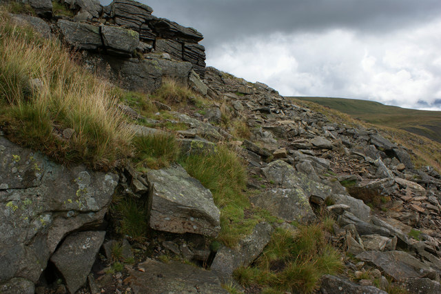 The path above Hag Dyke - geograph.org.uk - 1413058