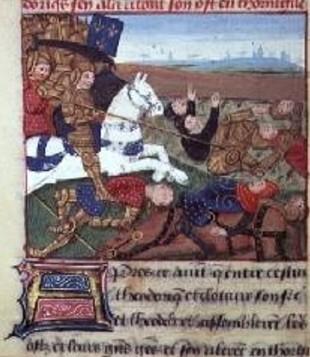 Theodoric (487-534) en Thuringe
