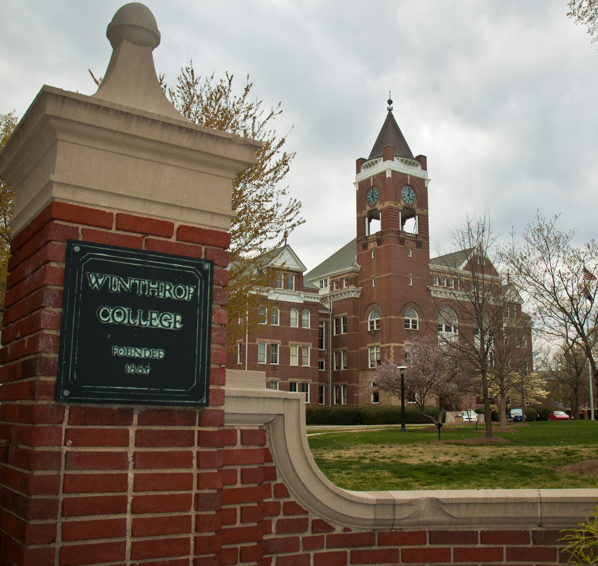 Tillman Hall at Winthrop University