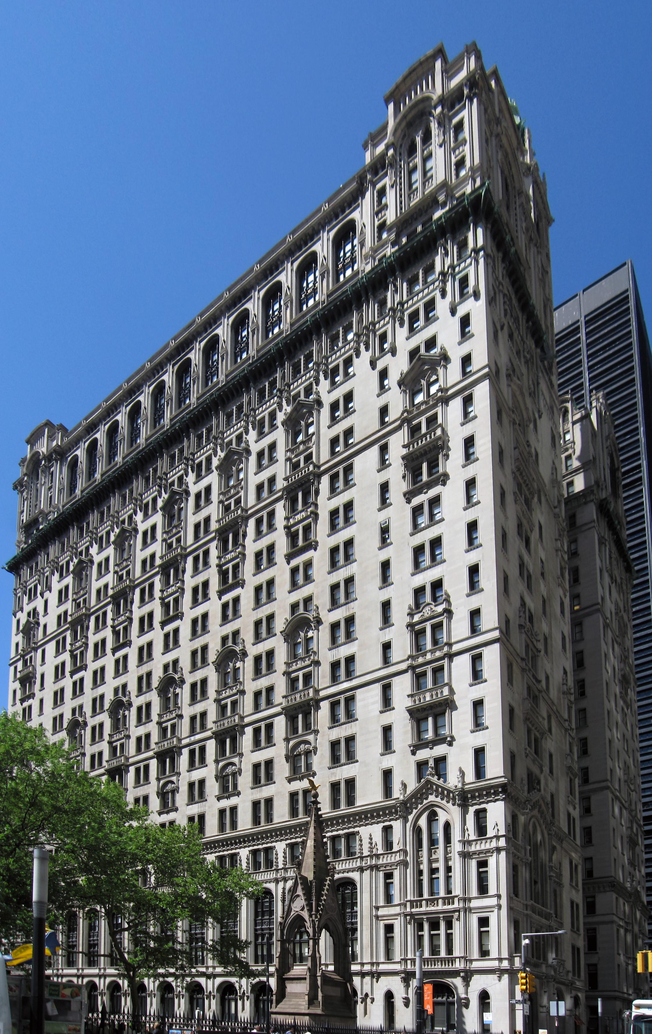 File Trinity Building In New York Jpg Wikimedia Commons