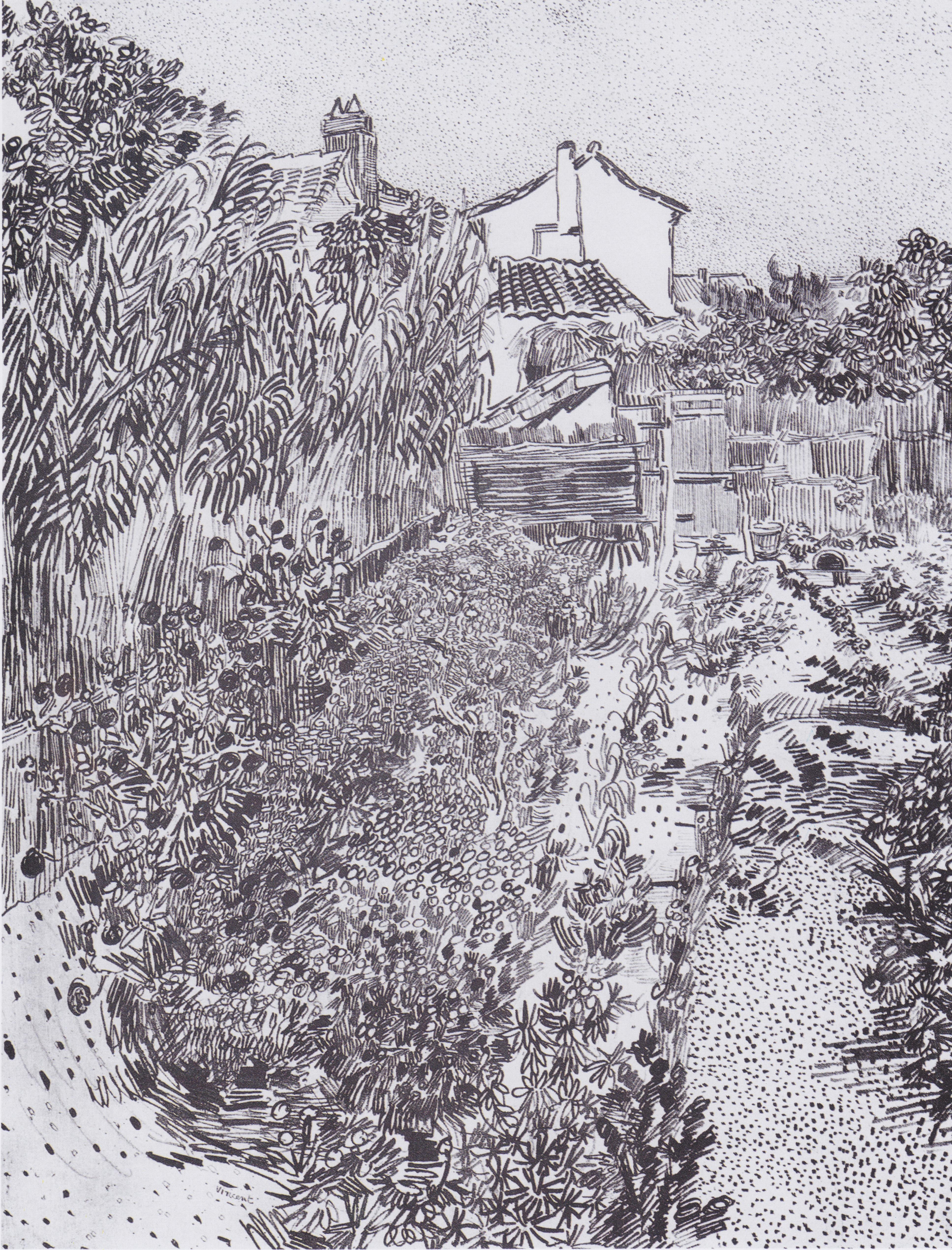 File:Van Gogh   Garten Mit Blumen1.jpeg