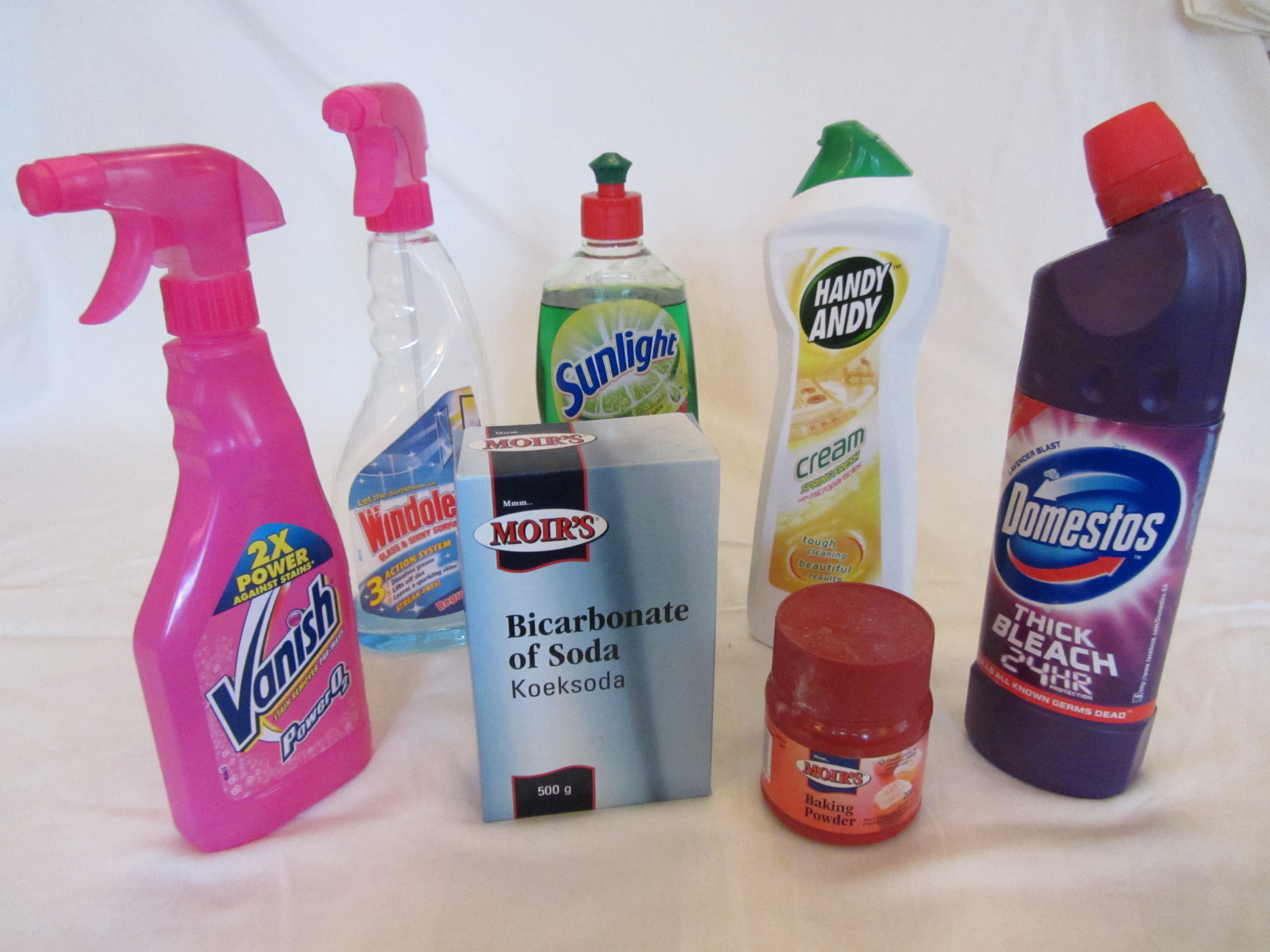 Common Natural Cleaners That I Can Site