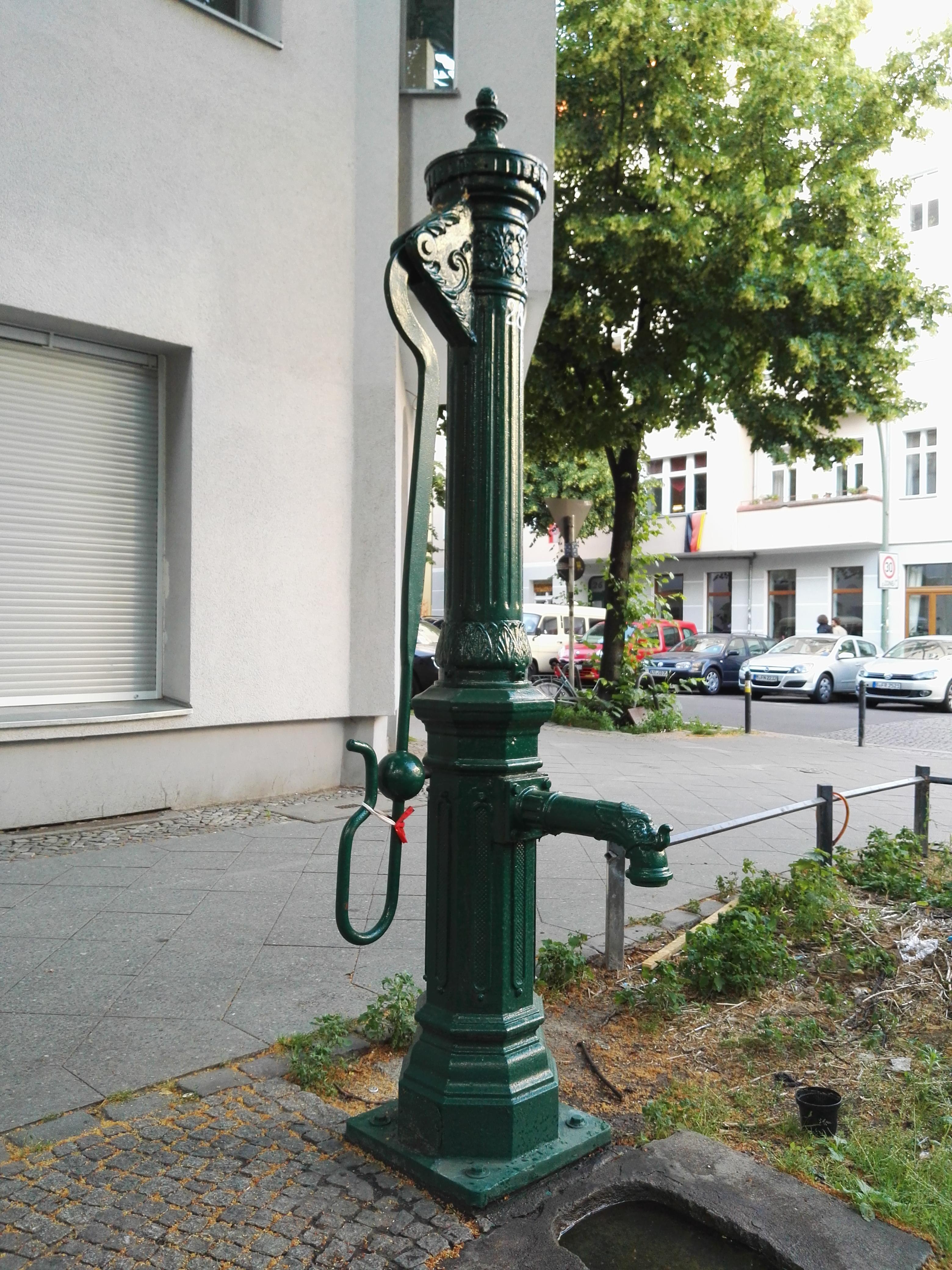Müggelstraße Berlin file wasserpumpe in berlin friedrichshain müggelstr scharnweberstr