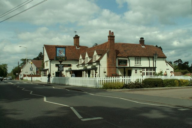 'The Angel' inn, Broomfield, Essex - geograph.org.uk - 176008