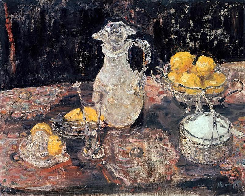 Натюрморт с лимонами. 1921. Макс Слефогт.