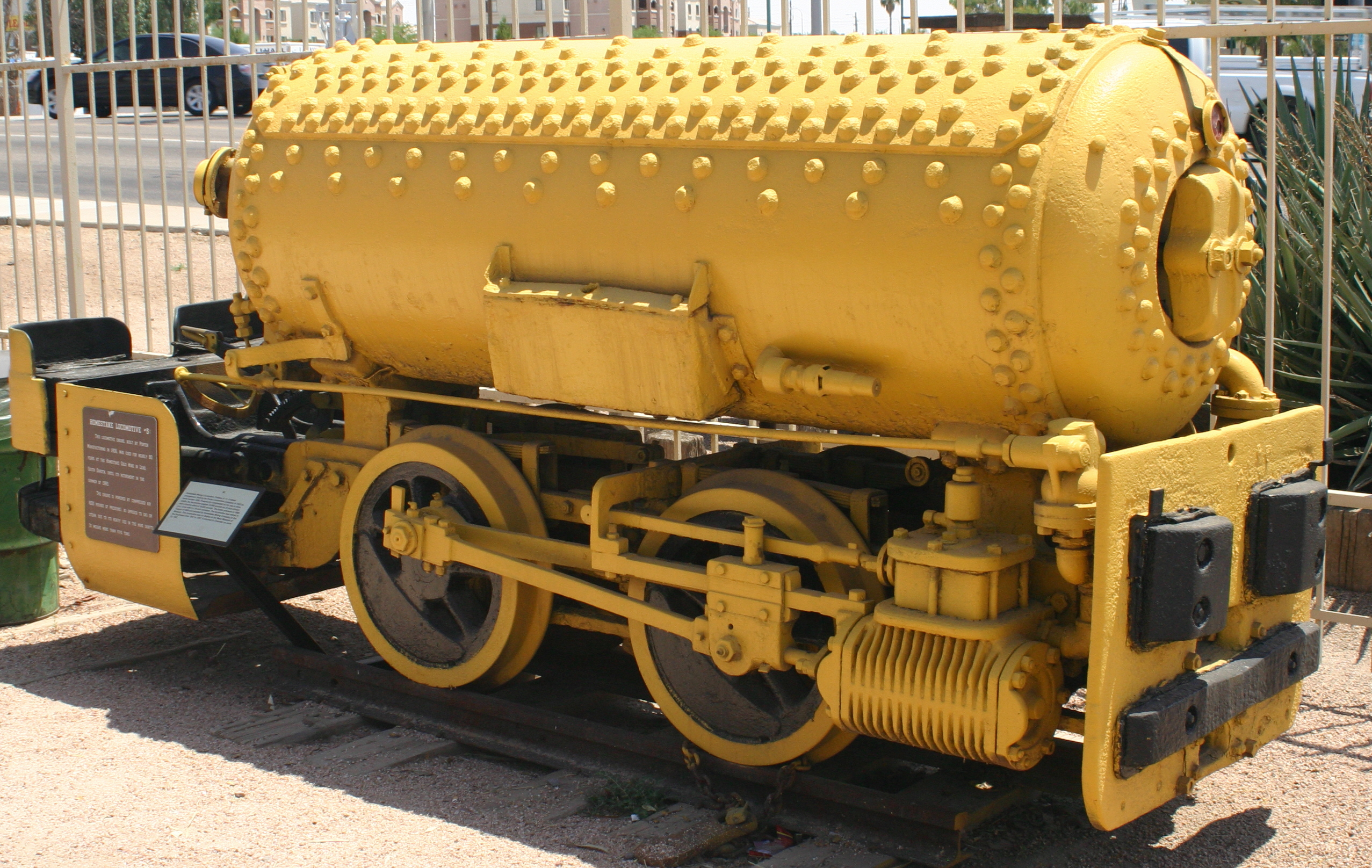 Locomotive à air comprimé Porter (Photo: Wikimedia)
