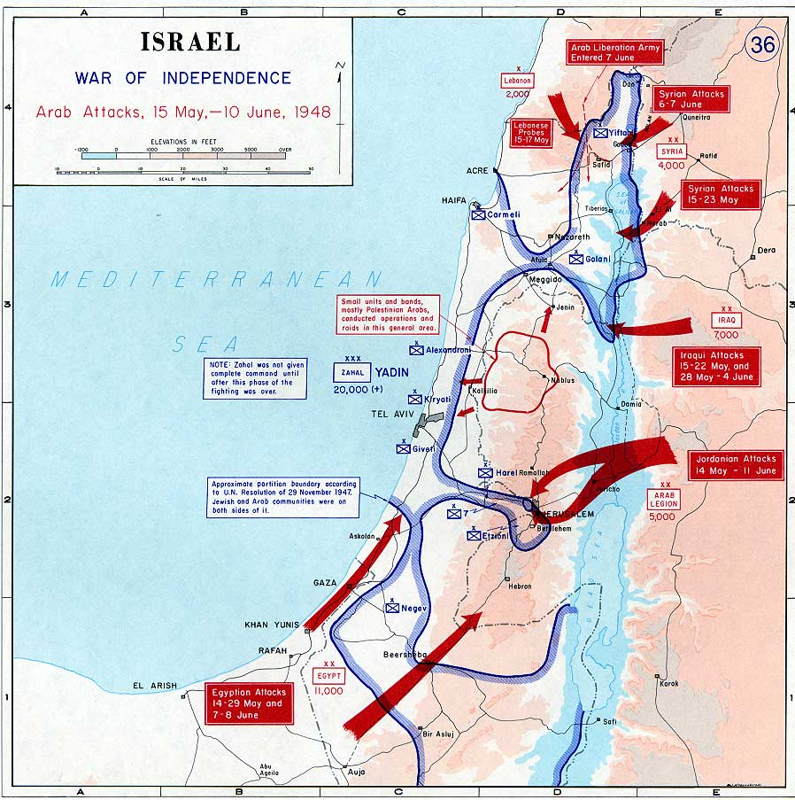 1948 arab israeli war There is a deep chasm between arab and israeli interpretations of the  while  the scope of this book goes beyond the 1948 arab-israeli war,.