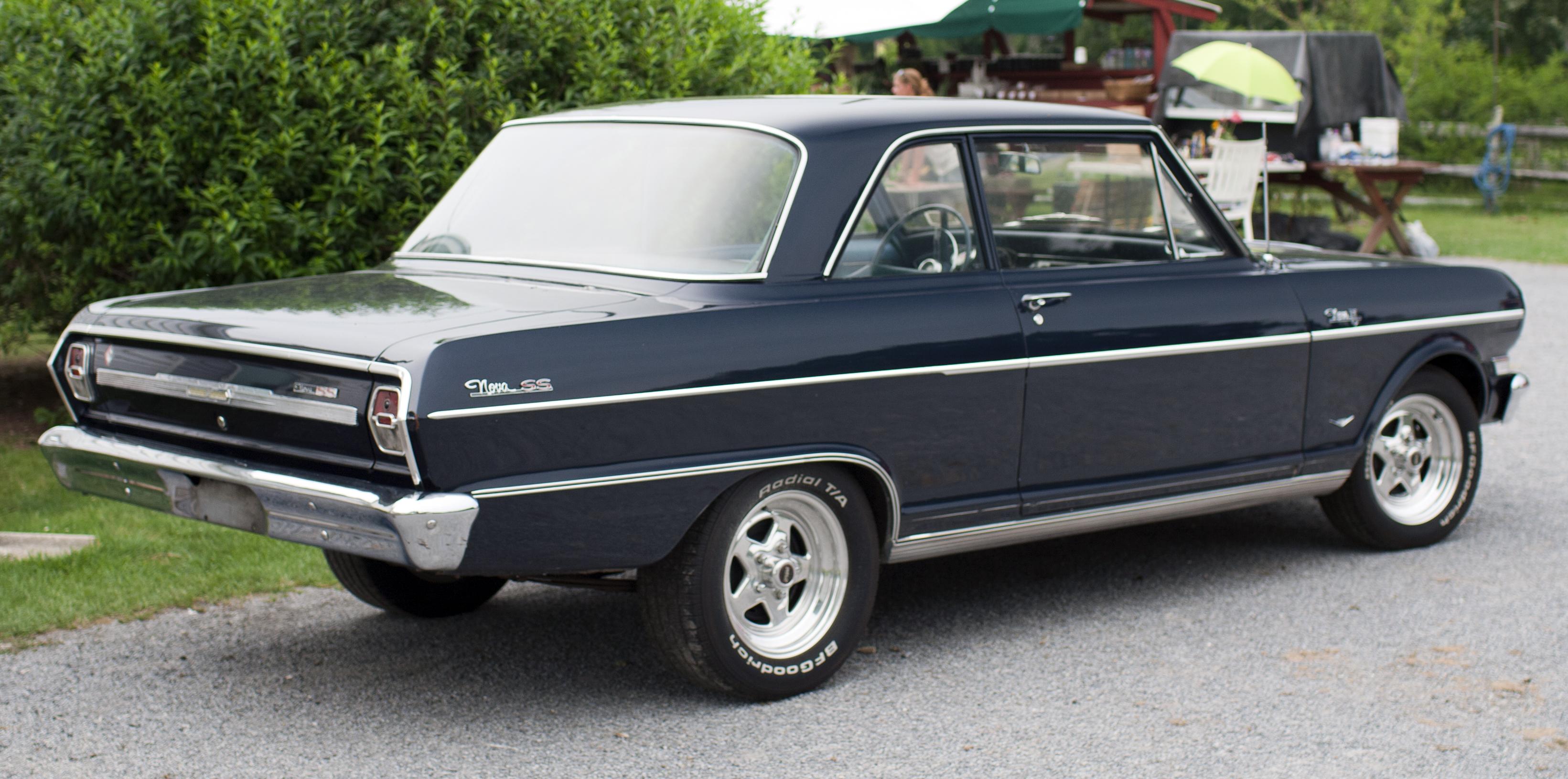 "File:1964 Chevy II Nova 400 ""SS"" rear.jpg - Wikimedia Commons"