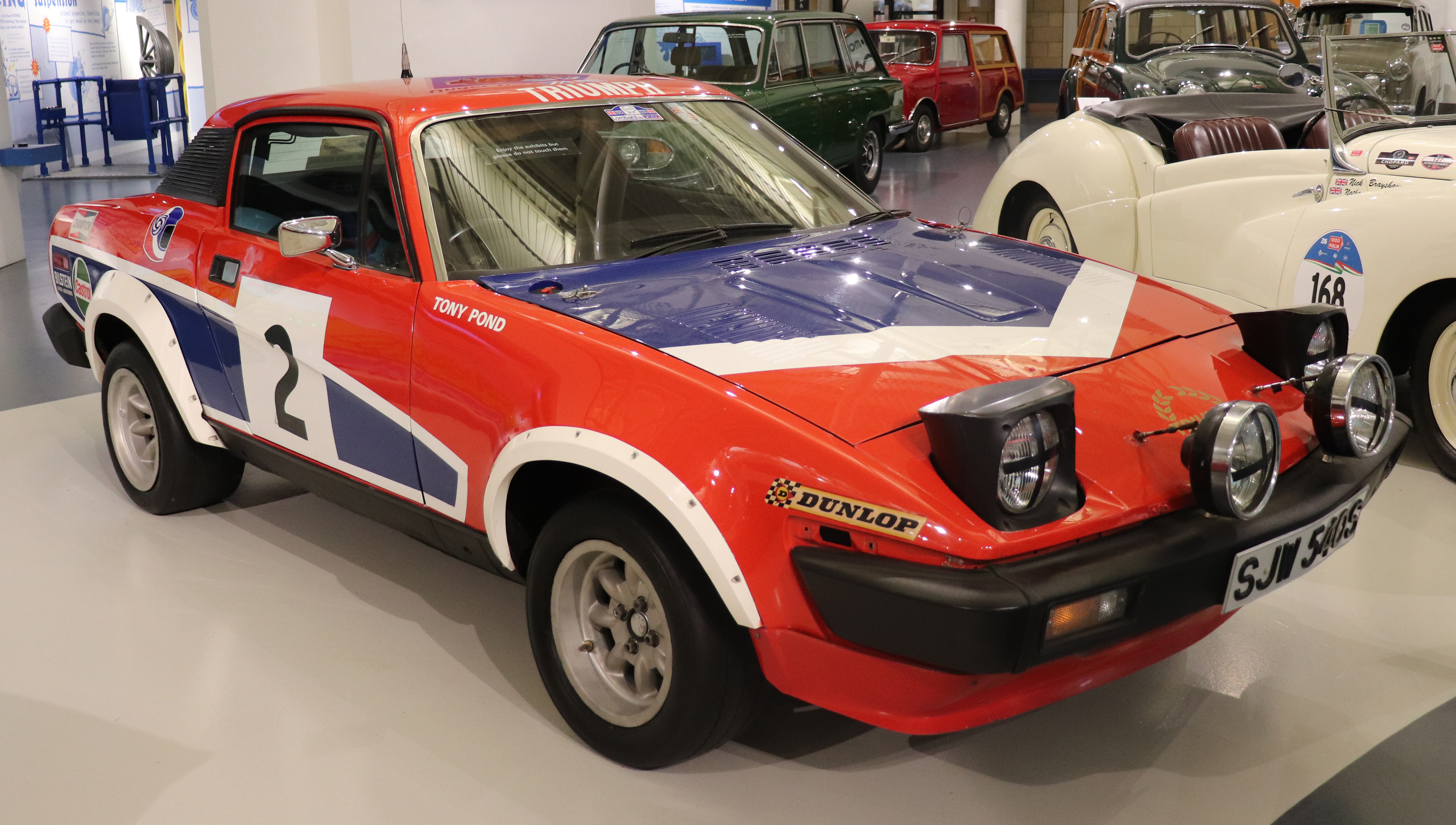 File1978 Triumph Tr7 V8 Rally Car 35 Frontjpg Wikimedia Commons