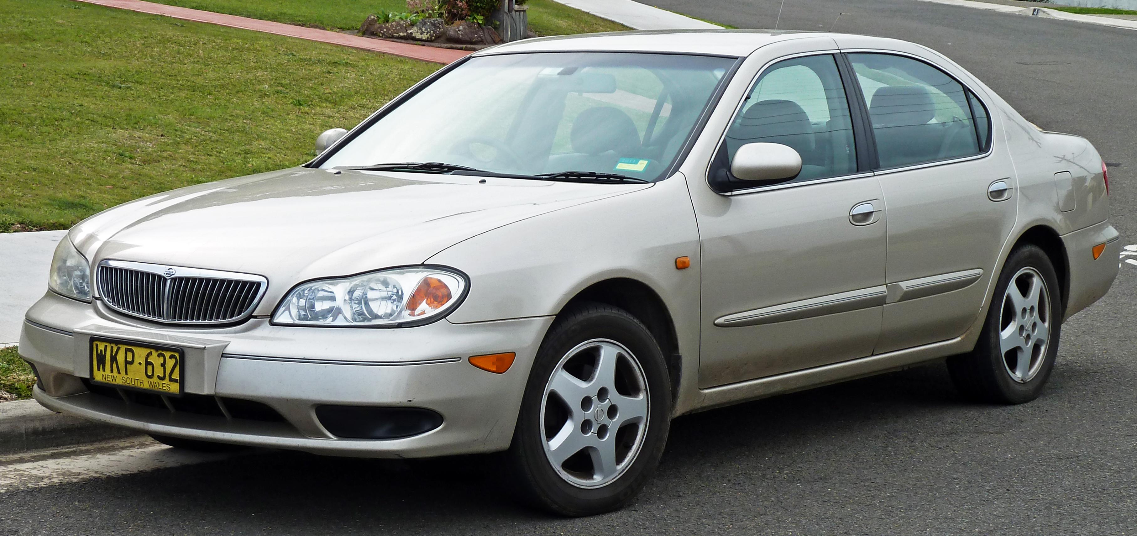 Description 1999-2001 Nissan Maxima (A33) ST sedan 01.jpg
