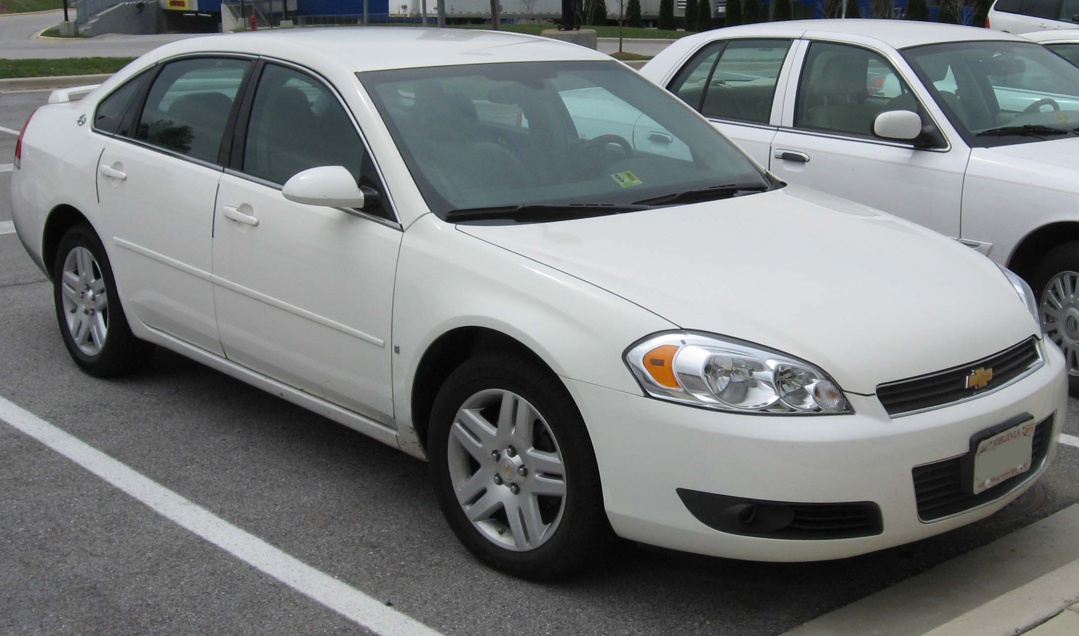File 2006 2007 Chevrolet Impala Wikimedia Commons