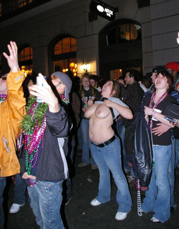 2007 breast gras mardi
