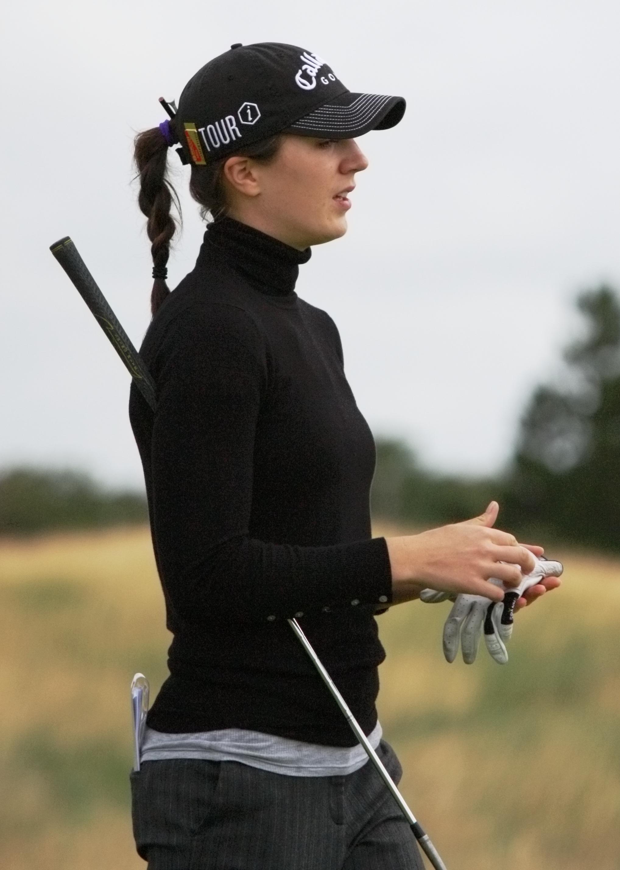 sports  sandra gal german professional golfer