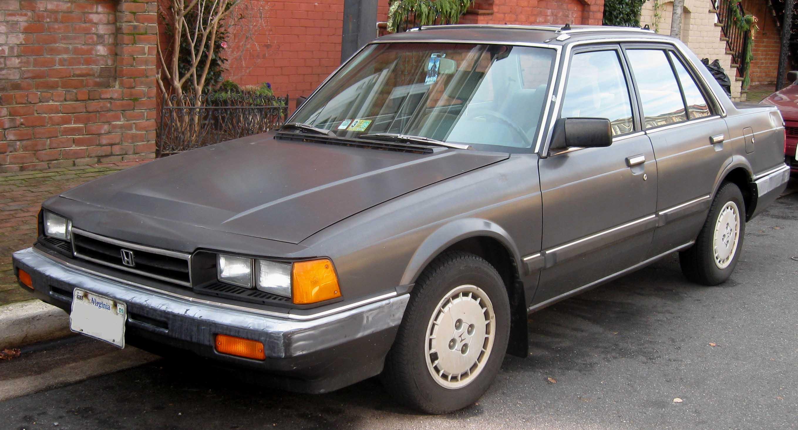 Kelebihan Honda Accord 1985 Harga
