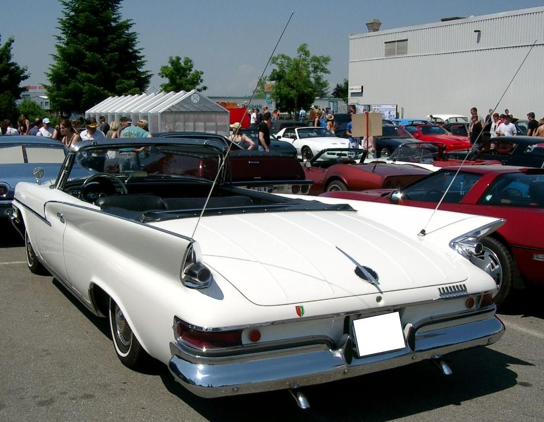 Chrysler Saratoga 30 I 150 Hp 1942 New Yorker Convertible Resimleri 14 1961