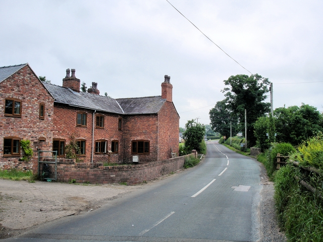 Agden - the last house in Cheshire - geograph.org.uk - 842367