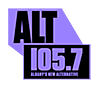 """Alt 105.7"" logo, 2018–2019"
