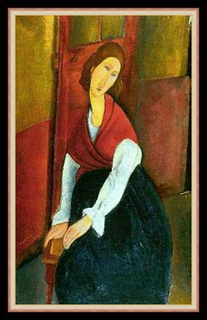 File:Amedeo Modigliani - Jeanne Hebuterne in Red Shawl.jpg