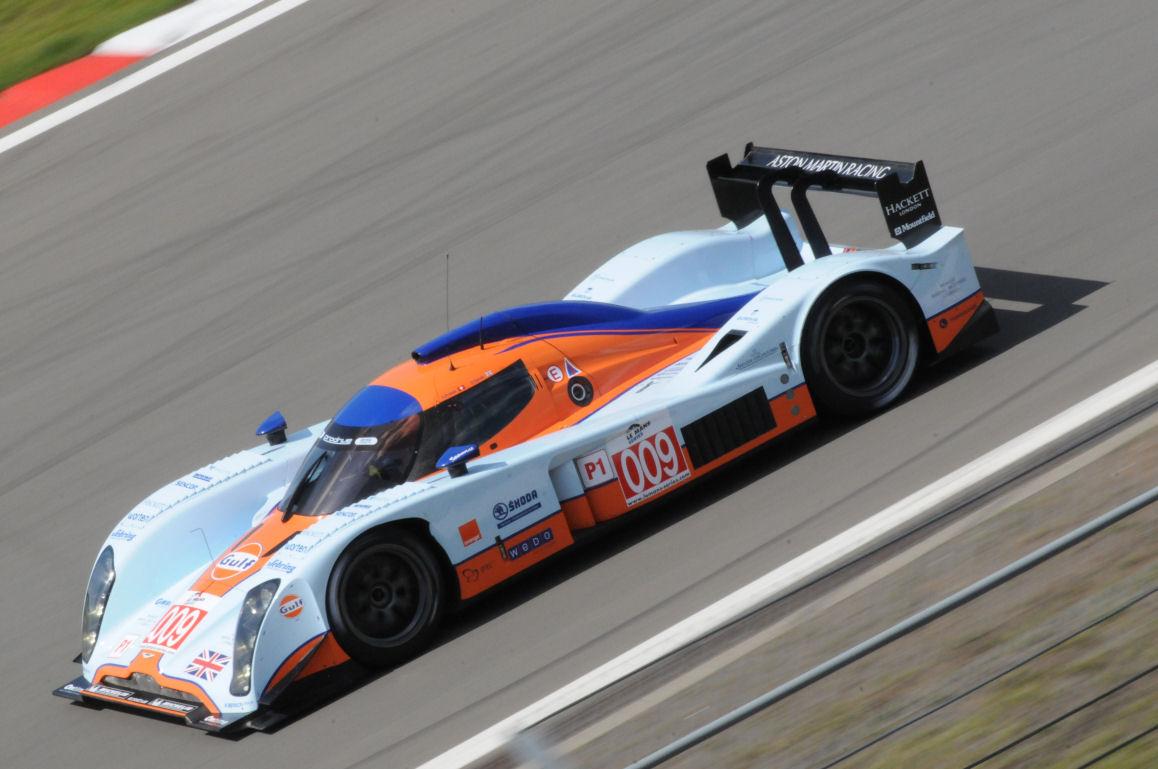 Darren Turner und Harold Primat 2009 im Lola-Aston Martin LMP1