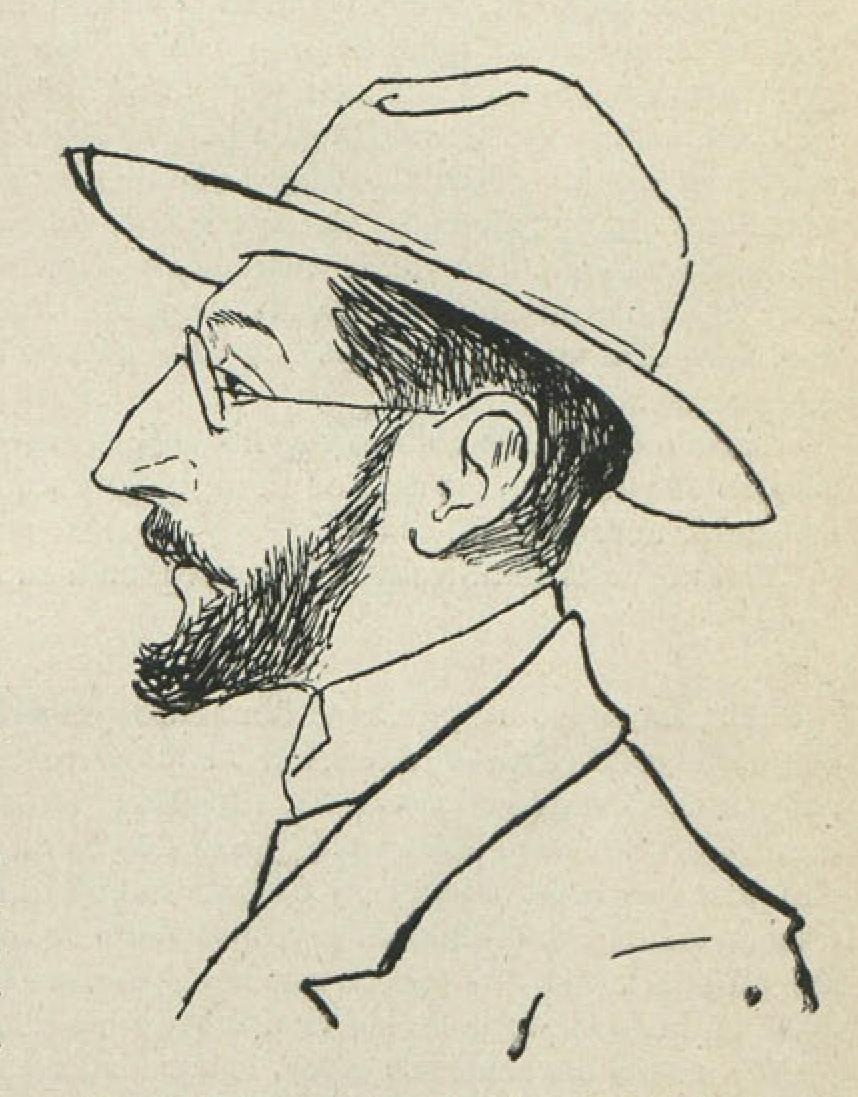 Autorretrato de Unamuno, en «Auto-retrato» (Revista Ibérica, 30 de septiembre de 1902).