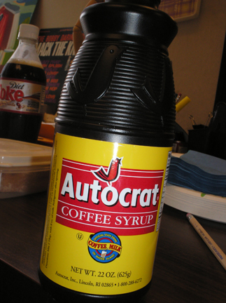 Autocrat Coffee Syrup Ingredients