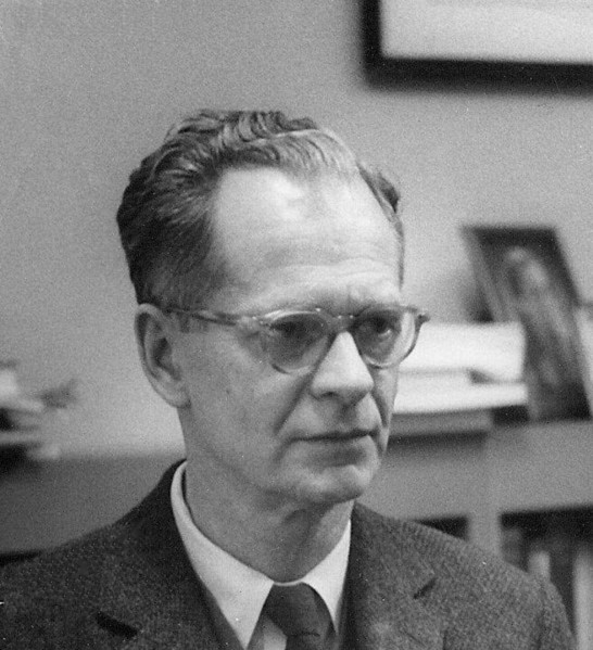 B. F. Skinner; thanks to WikiCommons