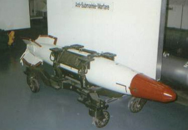 English: B57 nuclear bomb.