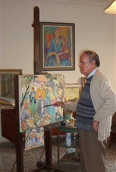 Bachir yell s wikip dia for Artiste peintre narbonne