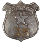 Texas State Police Force working racially based crimes in Texas prior to 1873