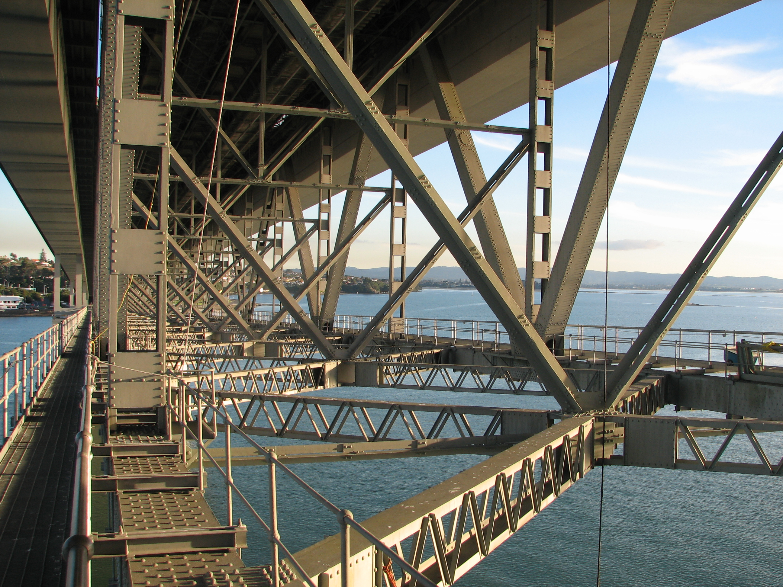 File Below Auckland Harbour Bridge Hossen27 Jpg