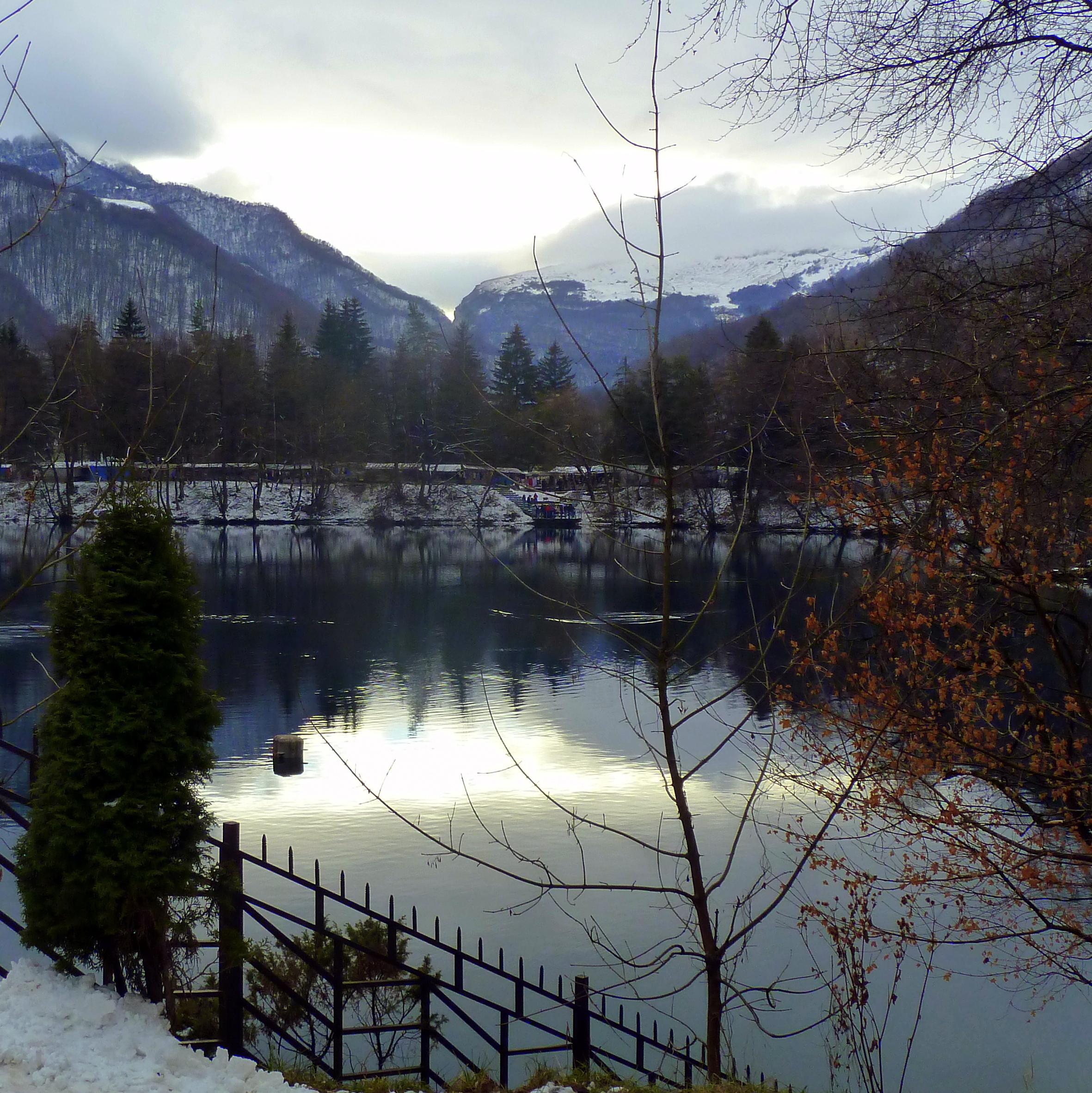 Kabardino-Balkaria. Blue Lakes where are located 26