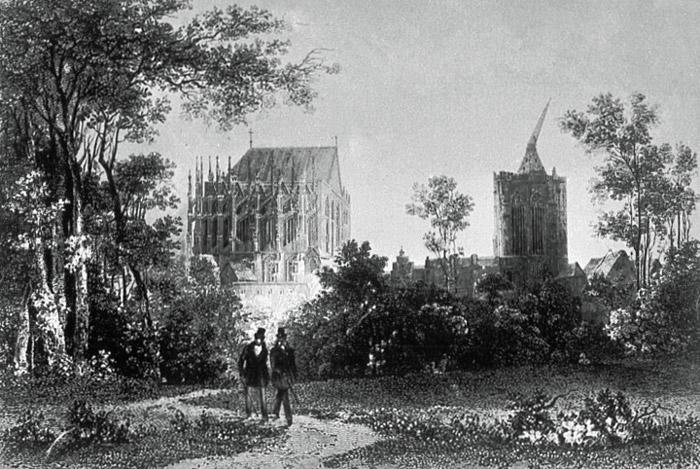 Alter Botanischer Garten Am Dom Zu Köln