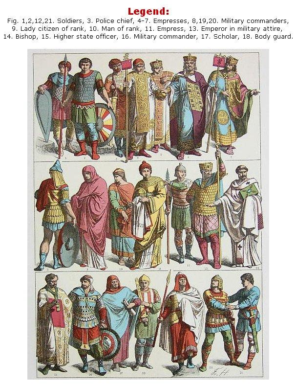 Byzantine Fashion Clothing