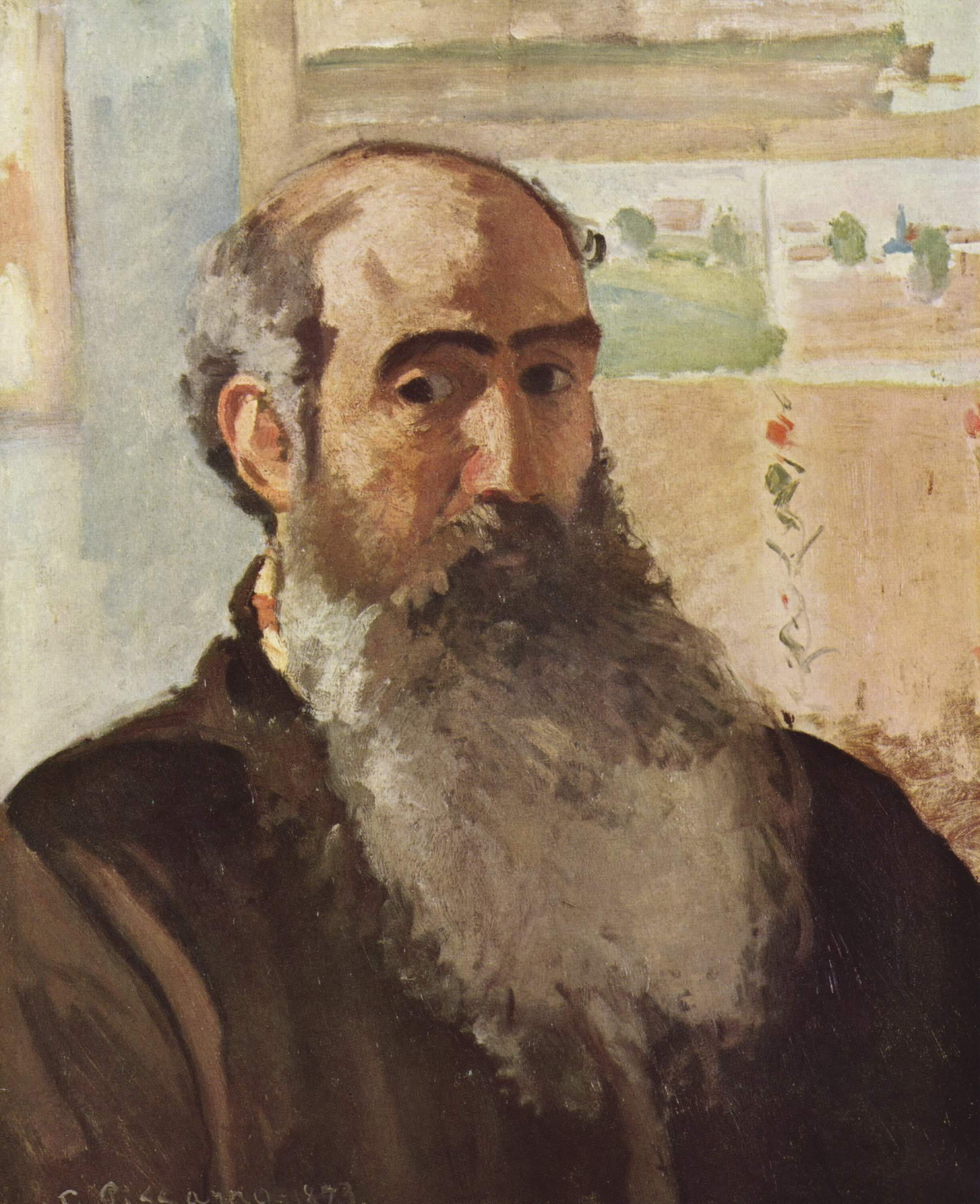 Bust-Length portrait: Camille Pissarro, Artist