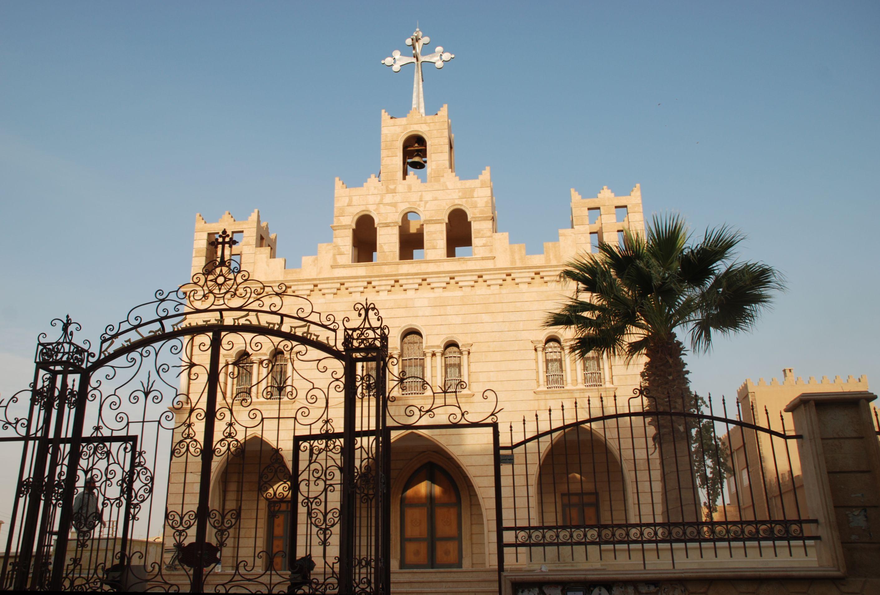 File:Chaldean Catholic Church, Al-Hasakah, Syria.jpg