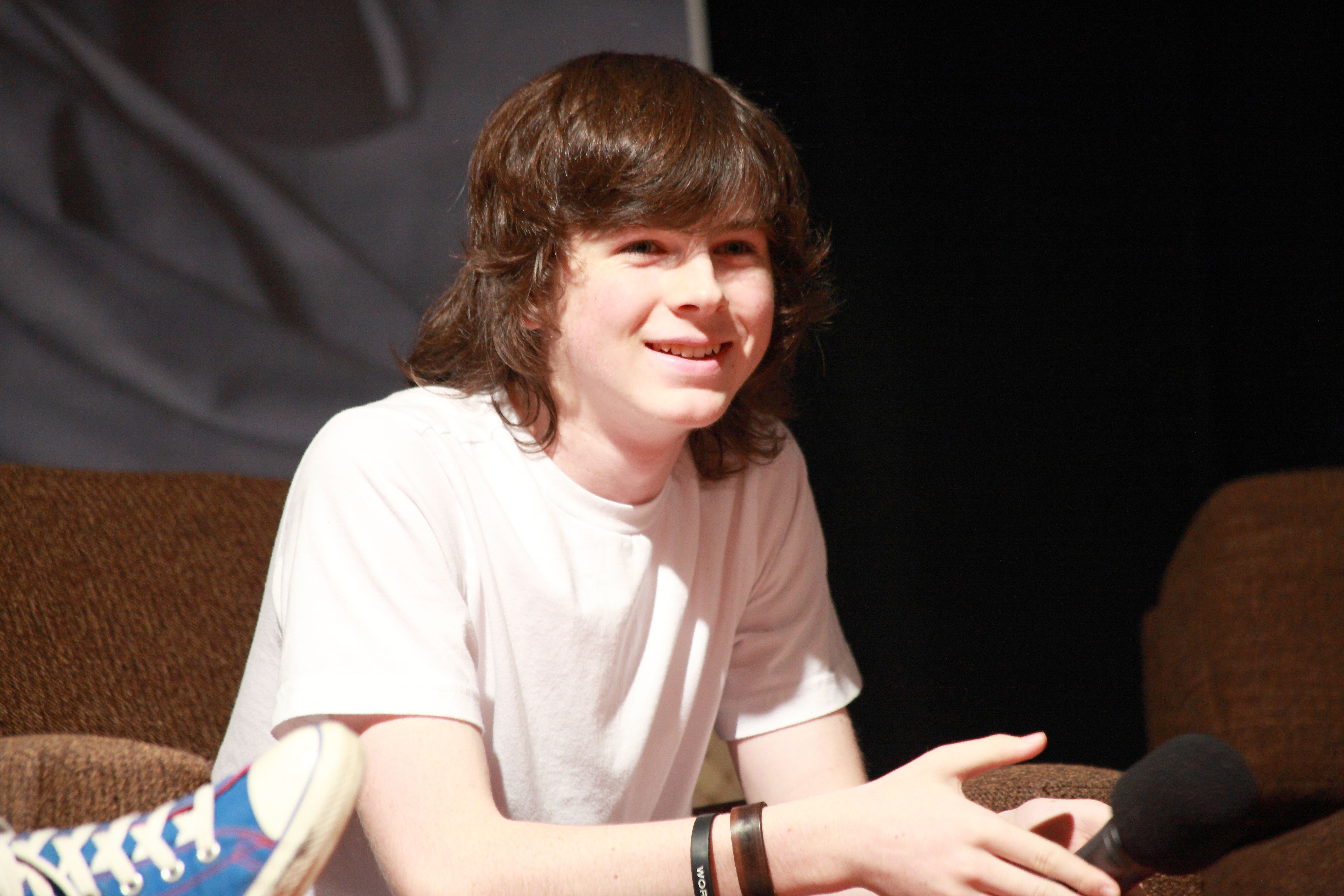 chandler riggs steam