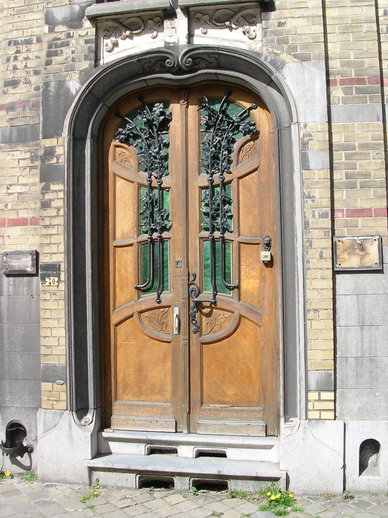 Entree facade maison for Facade maison originale