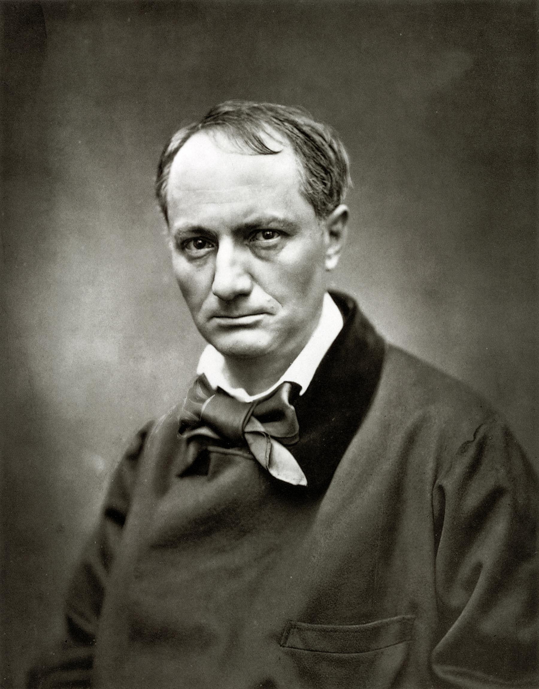 Charles Baudelaire par Étienne Carjat