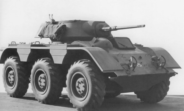 Chevrolet m38 wolfhound armored car