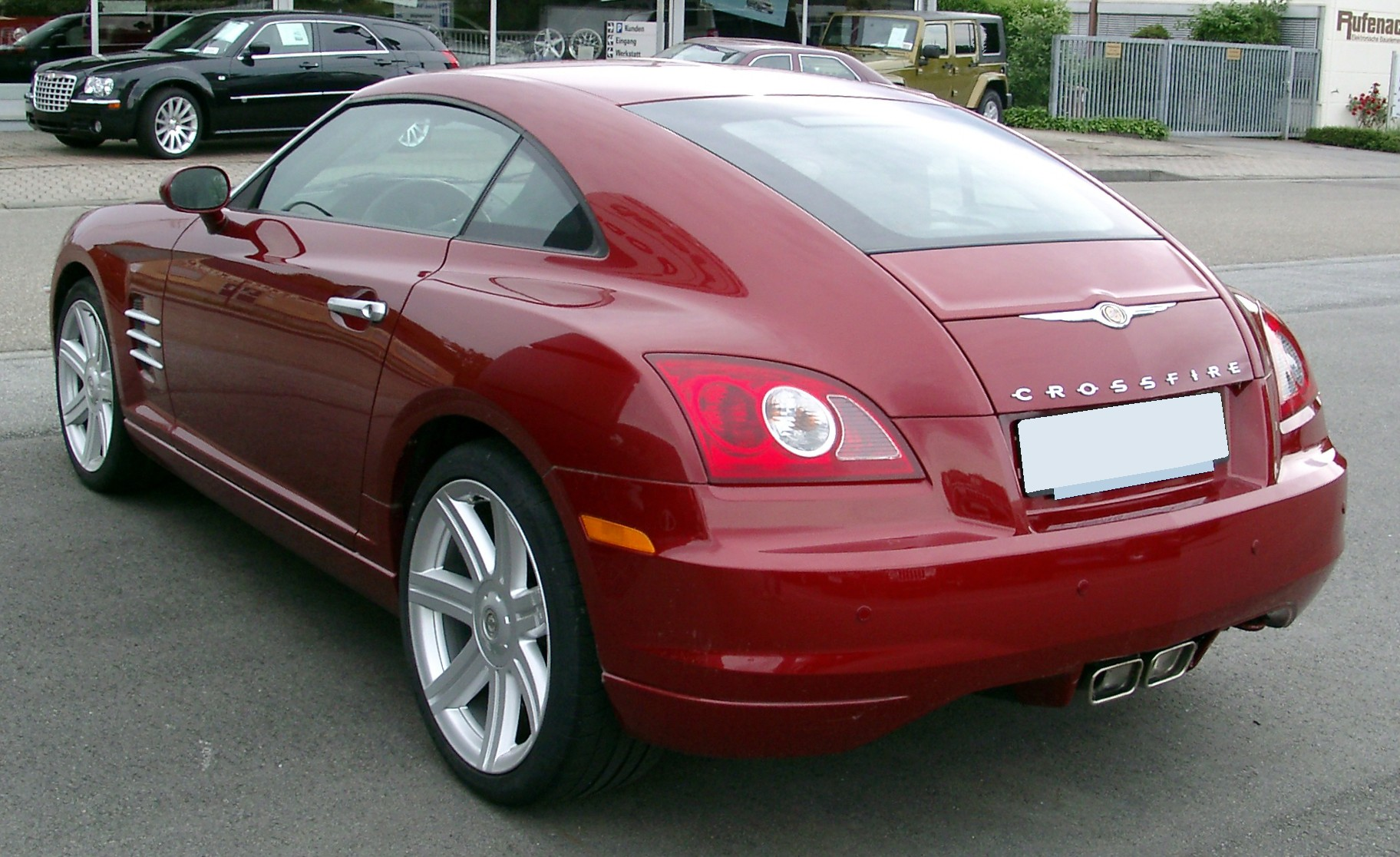 File:Chrysler Crossfire rear 20080517.jpg