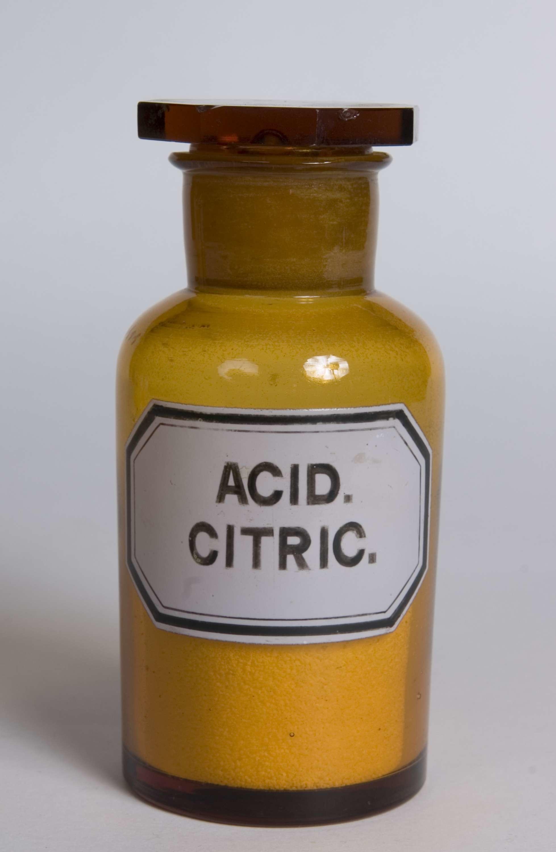 citric acid norsk