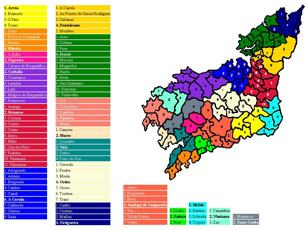 Castros Da Provincia Da Coruna Wikipedia A Enciclopedia Libre