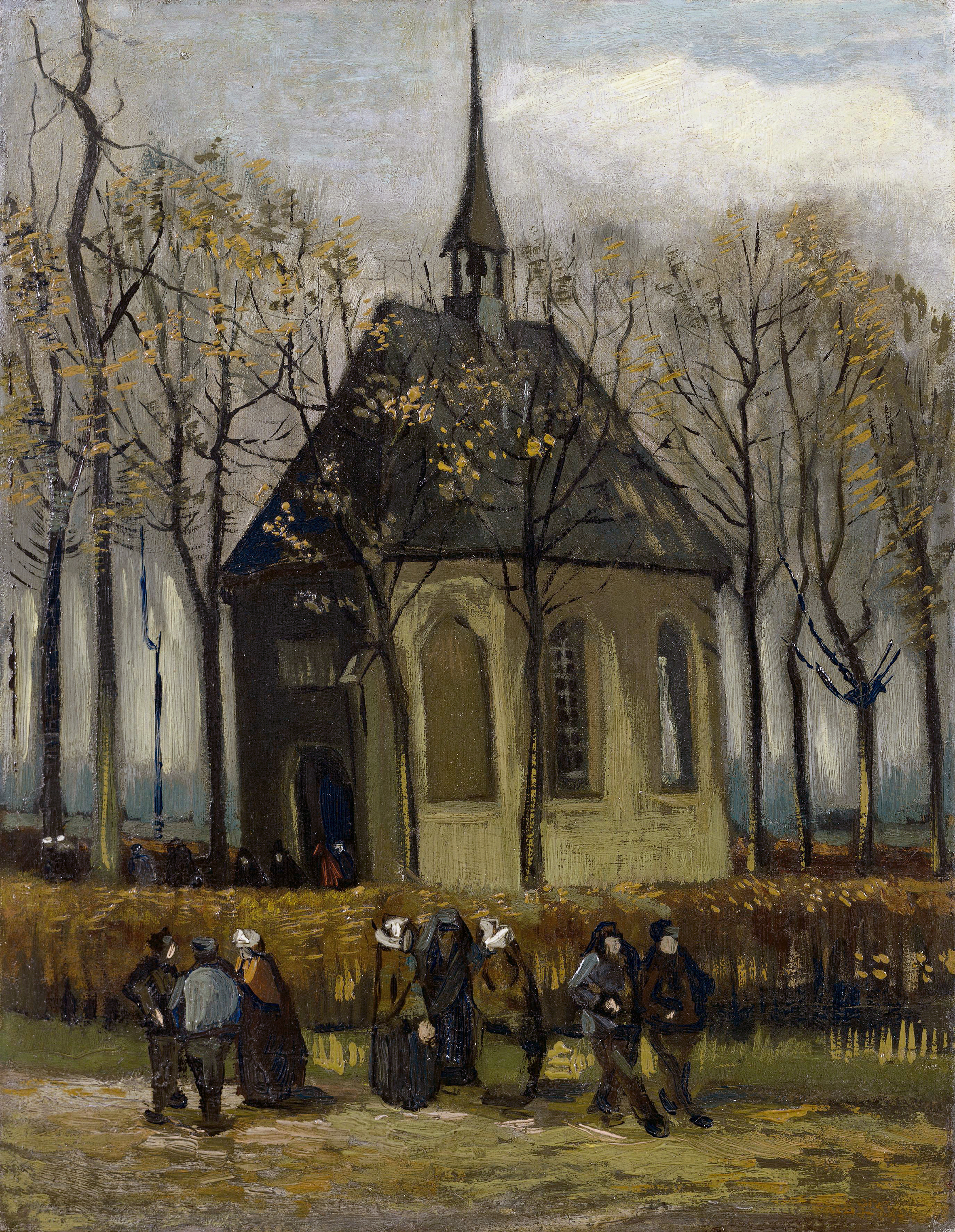 file congregation leaving the reformed church in nuenen by vincent rh commons wikimedia org